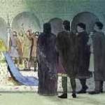 Mariage de Thierry fils de la Reine Brunhaut