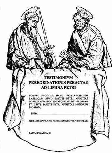 Testimonium Vatican